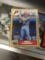 100 quantity - Mike Schmidt Philadelphia Phillies 1987 Topps # 430