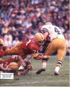 RON MCDOLE photo in action Washington Redskins v Saints in November 1971(c)