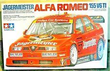 TAMIYA ALFA ROMEO 155 V6 TI JAGERMEISTER 1:24 FACTORY SEALED MODEL KIT