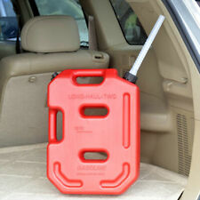 Car Motorbike Spare Jerry Can 10L LTR Fuel Petrol Diesel Oil Containers Canister