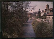Autochrome - L'Arbresle (Rhône), commune près de Lyon. Format 13x18