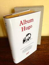 La Pléiade - JAQUETTE  (sans livre)  de l'Album HUGO - Qualité Parfaite