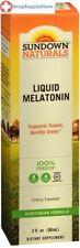 Sundown Naturals Sublingual Melatonin Liquid, Cherry 2 fl oz