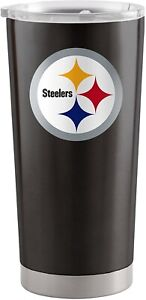 Pittsburgh Steelers 20 oz Stainless Steel Insulated Ultra Travel Tumbler Mug