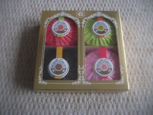 ROGER & GALLET - SET OF FOUR SOAPS - BRAND NEW IN BOX