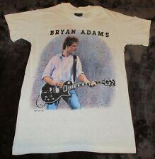 Vintage 1985 BRYAN ADAMS Reckless Tour Sm T-shirt Dead Stock