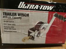 Ultra-Tow Trailer Winch - 600-Lb. Capacity