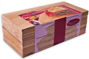 """Cedar Grilling Planks 30 Pack 5.5"""" x 11"""" Free Shipping"""