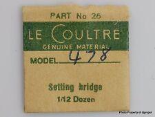 Jaeger LeCoultre Set Bridge Cal. 478 Part #26