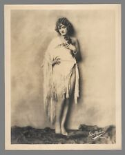 Pictorialist Art Deco Photograph of Actress Vera Marshe by DeHaven-Chicago 1930