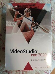 COREL VIDEO STUDIO PRO 2020 SOFTWARE VS2020PMLMBAMC BRAND NEW