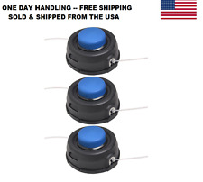 3X THREE Husqvarna T35 Auto Feed Tap Trimmer Heads 12mm Dual Line 531300194