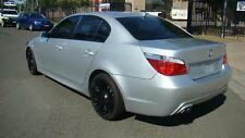BMW 5 SERIES BLACK LEATHER SEATS & DOOR TRIMS E60, 10/03-04/10