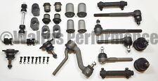 MASTER Front End Rebuild Kit Tie Rods+Idler Arm+Bushings 1970-74 Chevy II Nova