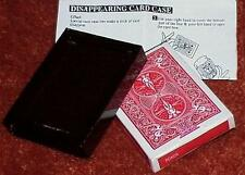 Vanishing Deck and Card Case -- slick black version --CLEARANCE        TMGS