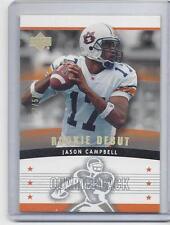 1/1 JASON CAMPBELL 2005 UD ROOKIE DEBUT GOLD SPECTRUM RC #D 17/50 (HIS JSY #17 )