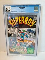 SUPERBOY #140 CGC 5.0 SILVER AGE JIM SHOOTER CURT SWAN DC COMICS 1967