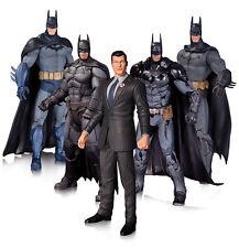 DC COLLECTiBLES BATMAN ARKHAM 6.75-INCH BATMAN ACTION FIGURE 5-PACK