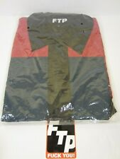 2fd9974e FTP COLOR BLOCK TRACK JACKET BLACK - SIZE LARGE - IN HAND