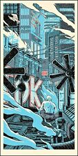 """Blade Runner """"lágrimas en la lluvia"""" póster de impresión por artista Mondo Tim Doyle Firmada"""