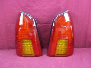 NOS OEM Cadillac Deville Tail Lamp Light 2000 - 2005 PAIR EXPORT