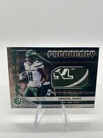 2020 PANINI ELEMENTS DENZEL MIMS FREQUENCY ROOKIE Jets Logo Patch SSP# 9/10 JETS