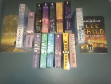 LEE CHILD - JACK REACHER X 16 Books Bulk Inc Personal Night School