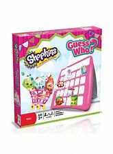 Shopkins Toys Guess Who Board Game Toy Fun Play Puzzle Brand New Gift