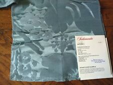 SCALAMANDRE Fabric Remnants -  DAMASCO FLOREALE  05 - Silk Jacquard  10x10-$279