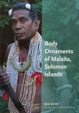 LIVRE/BOOK : ORNEMENTS DU CORPS MALAITA, ILES DE SOLOMON (body ornaments,islands