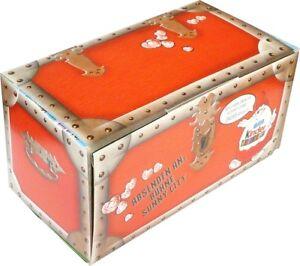 Original Ferrero Basteldiorama der Pinky Piggys als Schatztruhe