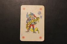 Vintage The Jolly Joker Red Star Back playing card