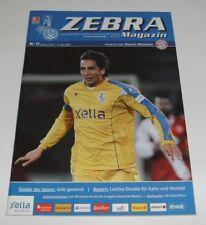 Programm MSV Duisburg - FC Bayern München 10.05.2008 - 1. Bundesliga 2007/2008