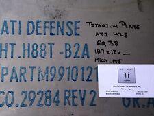 """TITANIUM PLATE ATI 425 Gr 38  .187"""" X 12"""" X 48"""""""