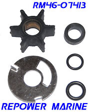 Water Pump Impeller Kit for Mercury Outboard 3.5, 3.6, 4HP,  47-89980, 47-68988