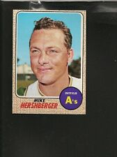1968 Topps # 18 Mike Hershberger NM-MT