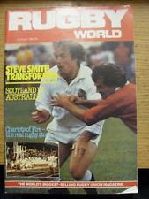 01/08/1982 Rugby World Magazine: August Edition - Complete Issue of the monthly