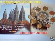 2009 Belgio 8 monete 3,88 EURO Belgium Belgica BU Belgique Belgie KMS Belgien