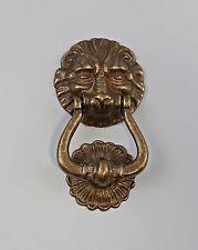 Heurtoir de porte Lion En laiton bruni 9977432