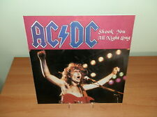 AC/DC SHOOK YOU ALL NIGHT LONG 1985 LP VINILE USATO SICURO