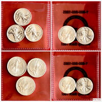 (10) MMEX WALKING LIBERTY SILVER ROUNDS. 1/10 OZ.  .999 FINE. BU Mint Sealed.