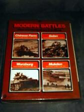 SPI - Modern Battles game - Wurzburg, Chinese Farm, Golan, and Mukden (PUNCHED)
