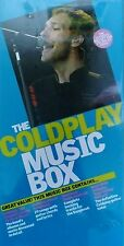 THE COLDPLAY MUSIC BOX NEW & SEALED WITH CDs/DVD/BOOK
