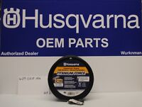 "Husqvarna OEM  639005106 Titanium Force String Trimmer Line .095"" x 3lb Spool"