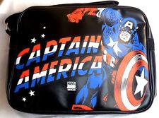 Logo Shirts Logoshirt Logo Tasche Retro Vintage Bag Kunstleder Captain America