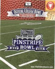 2015 New Era Pinstripe Bowl Patch Duke vs Indiana Official Jersey Logo