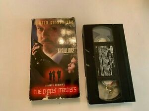 1994 The Puppet Masters VHS Video Tape Donald Sutherland