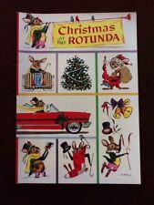 Original 1955 Ford Rotunda Christmas Coloring Comic Book New Old Stock Unused