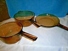 Vintage Corning Vision Cookware, Set of 3 Pieces