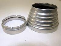 Metal Lens Hood Shade with series 6 Filter ring slip on type